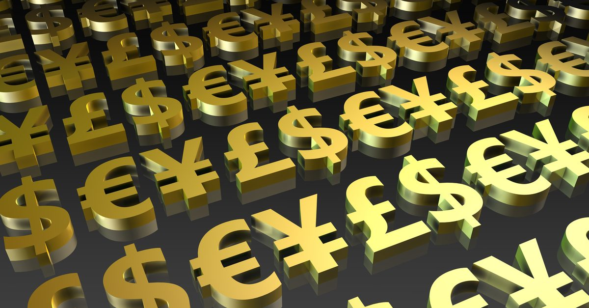 Characteristics of major currency pairs